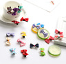 10/20Pcs Kid Baby Girl's Ribbon Cute Hair Bow Mini Latch Clips Hair Clip Hairpin