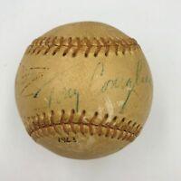 Rare 1963 Tony Conigliaro Single Signed Autographed Baseball JSA COA