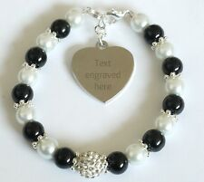 Engraved Personalised Colon Cancer Awareness Bracelet Charity Fundraising Gift