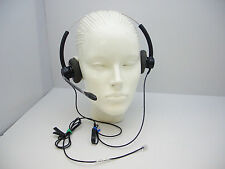 SP12 DUO Headset for Avaya Nortel Toshiba Polycom NEC Aspire Ascom Siemens Mitel