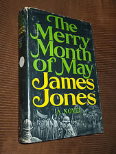 The Merry Month Of May by James Jones 1971 HC/DJ BCE