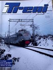 I Treni 188 1997 Servizio speciale su locomotiva a vapore FS 691 - RARO!