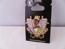 Disney * TIANA * JEWELED PRINCESS CREST * New on Card Trading Pin