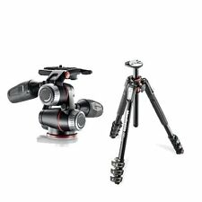 Manfrotto Aluminum Tripod Legs + XPRO3-WAY QR Head with Retractable Levers
