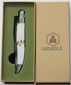 "Laguiole LG Taschenmesser ""Sea Shell"" Muscheloptik Messer. #114"