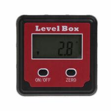 Digital Inclinometer Spirit Level Box Protractor Angle Finder Gauge Meter B T2E4