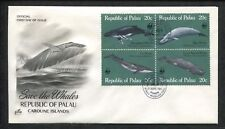 Republic of Palau Caroline Islands,  First Day Cover Save The Whales 1983