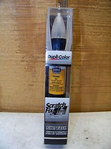 Dupli-Color Scratch Fix All in 1 Ford Chrome Yellow BZ AFM 0363