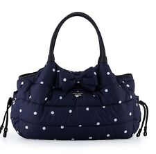 NWT KATE SPADE COLBY COURT STEVIE QUILTED POLKA DOT BABY DIAPER BAG HANDBAG TOTE