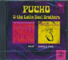 SEALED NEW CD Pucho & The Latin Soul Brothers - Heat + Jungle Fire