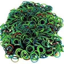 Dog Hair Rubber Bands (QTY 825) Puppy Grooming Green Tones - B2G1 FREE! _144-08G