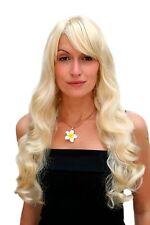Damenperücke Lady Wig Hollywood Diva hellblond lang gewellt ca. 60 cm 9255-88E
