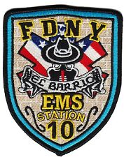 FDNY EMS 10 New York Fire Department patch (EL BARRIO)