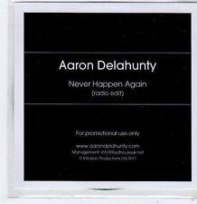 (FG565) Aaron Delahunty, Never Happen Again - 2011 DJ CD