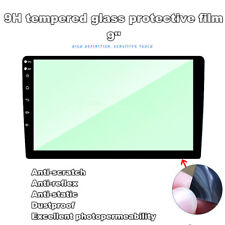 "9""Car DVD GPS Navigation Tempered Glass Protective Film Sticker Screen Protector"