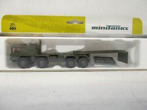 Minitanks -  MAN Multi - Neu - mit Zurüstteilen