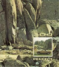 Peugeot 304 s coupé & cabriolet de 1973-74 french market sales brochure