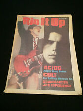 RIP IT UP MAGAZINE NEW ZEALAND AC/DC ACDC THE CULT JPS EXPERIENCE SOUNDGARDEN