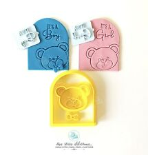 Nascita It's A Boy Girl Gender Reveal Party Cookie Cutter Formine Biscotti