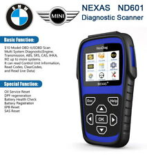 BMW-MINI Diagnostic Scan Tool DPF EPB SAS ABS SRS CBS Battery I/M Scanner ND601
