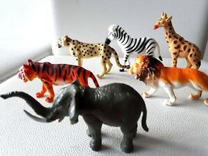 Wild Animal plastic toy animal figures toys children school prehistoric Gift
