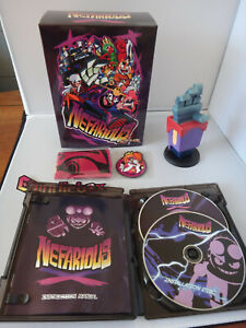 Nefarious - Indiebox PC Game 2017 - Limited Edition Box Set - Complete