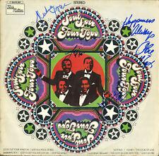 The Four Tops MOTOWN Signed LP Soul Spin 4 Originals Obie Payton Levi Duke