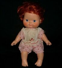 "14"" VINTAGE 1982 STRAWBERRY SHORTCAKE RED HAIR DOLL GIRL KENNER STUFFED ANIMAL"