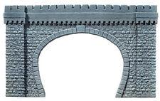Noch 67360 G Scale Tunnel Portal, 2-track 25 3/16x14 5/8in   in