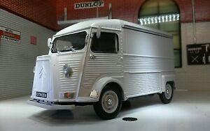 G LGB 1:24 1:27 Scale Citroen H Type Van Grey Diecast V Detailed Model 1947-1981