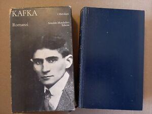 Romanzi - Franz Kafka - Mondadori - I Meridiani - 1970