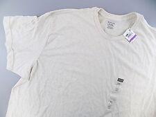 Alfani $25 MEN'S Beige Short Sleeve Basic Tee TOP Shirt SIZE 2XL SALE NWT D26