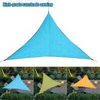 Sun Shade Sail Canopy Awning Shelter UV Block Waterproof for Outdoor Garden