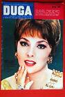 GINA LOLLOBRIGIDA ON FRONT COVER 1962 RARE EXYU MAGAZINE