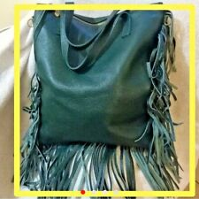 Borsa in Vera pelle Made in Italy genuine leather Cowboy Style