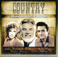Country Hall Of Fame (CD 2006) Johnny Cash, Faron Young, Dolly Parton & more NEW