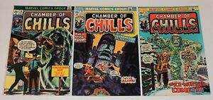 Marvel Comics CHAMBER of CHILLS #10, 11 & 12   ALL Super High Grade VF/NM