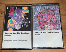 Siouxsie and the Banshees - Nocturne And Hyaena Lot Of 2 Cassette