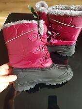Mountain Warehouse Childrens Snow Boots Whistler Kids Fleece Lined uk 13 EUR 32