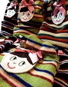 Stylish Kids Knitted Woolly Winter Oversized Slouch Beanie Children Hat Cap