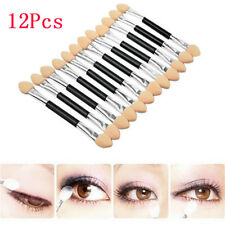Lip Eyebrow Eyeshadow Brush Sponge Stick Double-head Eyeliner Applicator