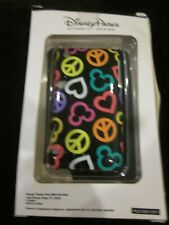 WDW DISNEY MICKEY CLIP CASE & SCREEN GUARD FOR iPHONE 3GS 3G S PEACE HEART MICKE