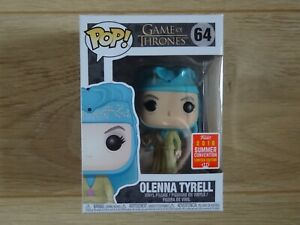 Rare Funko POP Game of Thrones N°64 Olenna Tyrell Edition limitée SDCC 2018
