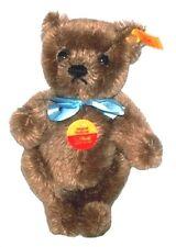 STEIFF- Original Teddy Bear Miniature w/Blue Ribbon-RETIRED NEW W/TAGS!