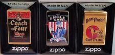 Zippo Tobacco Tin SET 4 of Tobacco Tin Series No 2 Limited Edition RARE