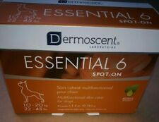 Dermoscent Essential 6 Spot-On for Dogs [22 - 45  lbs] (4 count)