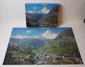 SPRINGBOK 300PZL7511 World of Wonder MATTERHORN SWITZERLAND jigsaw puzzle
