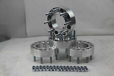 """4pc 8X170 HUB CENTRIC Wheel Spacer 14x2 FORD F250 F350 POWER STROKE 2"""" Thick"""