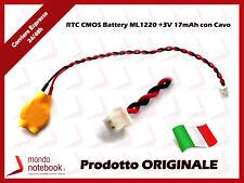 RTC CMOS Battery Batteria Tampone ASUS Eee Pc 1201N 1201NL 1201PN 1201T 1201X