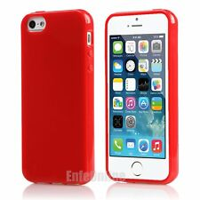 For iPhone SE 5 5S 78 Plus X Slim Soft Silicone Gel Rubber Jelly Shockproof Case